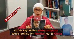Çin Nazi Kamplarında Kaybolanlar. Tanık 190 Mehbube, Austria (Uygurca)
