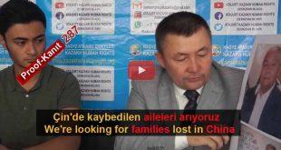 Çin Nazi Kamplarında Kaybolanlar. Tanık 287 Bilal, Kazakhstan (English, Rusça)