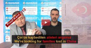 Çin Nazi Kamplarında Kaybolanlar. Tanık 313 Dogan, Turkey (Türkçe, Kazakh)