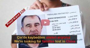 Çin Nazi Kamplarında Kaybolanlar. Tanık 320 Mijit, Turkey (Uygurca)
