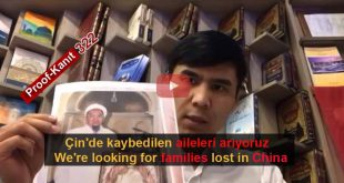 Çin Nazi Kamplarında Kaybolanlar. Tanık 322 Omir, Turkey (Uygurca)